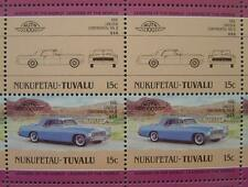 1956 LINCOLN CONTINENTAL MKII Car 50-Stamp Sheet / Auto 100 Leaders of the World
