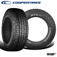2 X New Cooper Discoverer AT3 XLT LT285/60R20R10 125S Tires