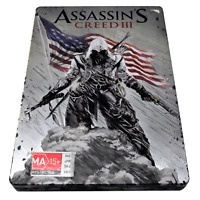Assassin's Creed III XBOX 360 PAL *Complete* Steelbook