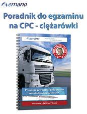 2019 Podręcznik do egzaminu na CPC ciężarówki lub autobusy do wyboru
