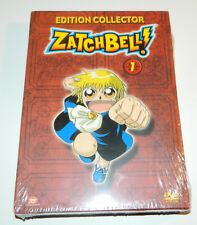 """DVD ZATCHBELL N°1  """"EDITION COLLECTOR""""  DVD VOL. 1 + 1/2 MANGA NEUF SOUS BLISTER"""