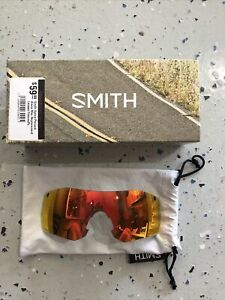 Smith Optics Pivlock Arena Max Sun Red ChromaPop Interchangeable Lenses Only