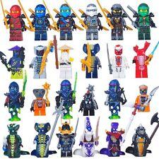 24 Pcs/set Ninjago Jay Kai Cole Lloyd Nya Mini Figures Fits Lego