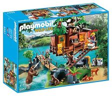 Playmobil 5557 Wildlife Adventure Tree House Playset