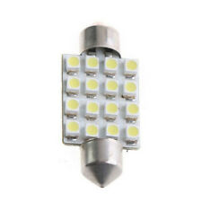 10pcs 42mm C5W 12V 16SMD Car Interior Dome Festoon LED Light Bulb Lamp