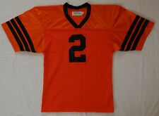 Vintage CFL B C Lions Football Jersey #2 Adult sz m Alpha Made in canada unworn