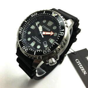 Men's Citizen Eco-Drive Diver's 200 Meters WR Watch BN0150-10E