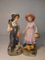 """UCGC Japan Figurines 7.5"""" Tall Young couple"""