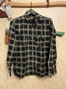 Mister Freedom Sportsman Camp Flannel Shirt - Black - M