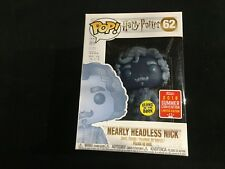 Harry Potter Nearly Headless Nick  #62 Funko Pop Convention Exclusive New in Box