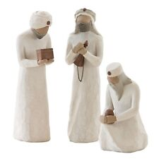 Willow Tree Christmas Nativity The Three Wise Men Figurine Set in Gift Box
