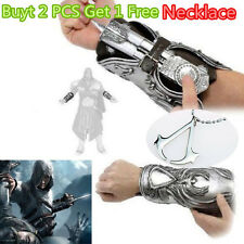 Assassin's Creed Cosplay Brotherhood Ezio Hidden Blade Auditore Gauntlet Replica