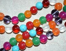 9 Planets Mala Beads 8mm Navratan Chakra Prayer Beads Necklace Blessed Energized
