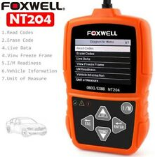 FOXWELL NT204 OBD2 CAN Diagnostic Tool Check Engine Light Fault Code Reader