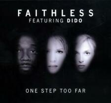 FAITHLESS FEAT DIDO: ONE STEP TOO FAR– 4 TRACK CD SINGLE, PLANET FUNK, ALEX NERI