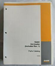 1994 Case Factory Parts Manual 1845 Uni Loader Catalog No 8 2316