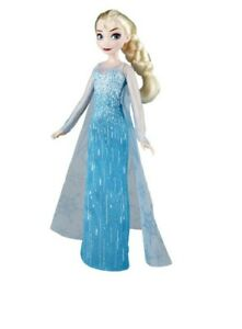 frozen Elsa doll with moveable body parts and removable shoes