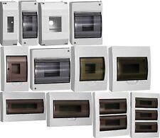 Sicherungskasten IP40 Aufputz Kleinverteiler Verteilerkasten Unterverteilung