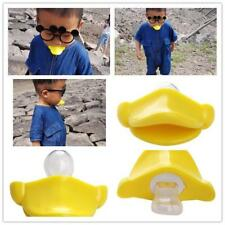 Funny Dummy Dummies Pacifier Baby Infant Kid Soother Maternity Joke Duck Mouth Z