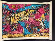 Dave Matthews Band Blossom 13 Drive In Poster Methane Studios #'d Sold Out 2020