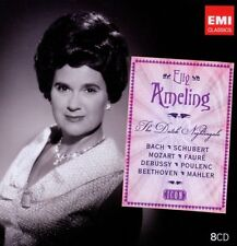 Elly Ameling-Icon: Elly Ameling 8 CD coro cantante Portrait Sopran NUOVO