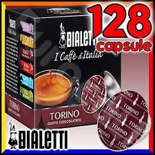 128 Capsule caffè BIALETTI TORINO cialde Mokespresso alluminio espresso Mokona