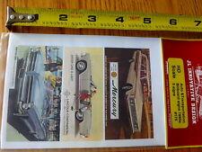 JL Innovative Design HO #175 Auto & Transportation Billboard Signs 1960's (5 Sgn
