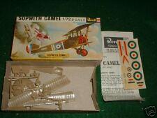 Revell 1/72 HO Sopwith Camel 1960's  kit