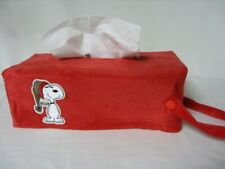 NEW Red Snoopy Hanging Tissue Box Cover