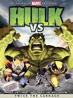 Hulk Vs. - DVD -  Very Good - Paul Dobson,Jonathan Holmes,Jay Brazeau,Janyse Jau