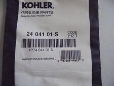 OEM  Kohler Intake Manifold Gasket   Part # 24-041-01-S