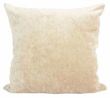 "Cushion cover or cushion soft velvet effect Chenile in 10 colours 17""x 17"""
