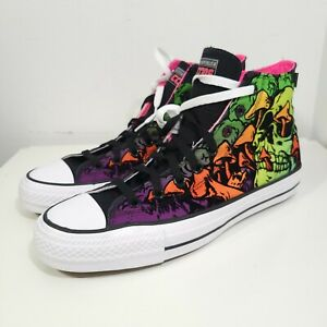 Converse Chuck Taylor All Star Pro Hi 171225C Wasabi Black Shoe Sneaker Mens 10
