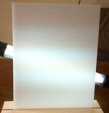Top WEISS 3mm Deckend Plexiglas Acrylglas Zuschnitt platte Fotografie
