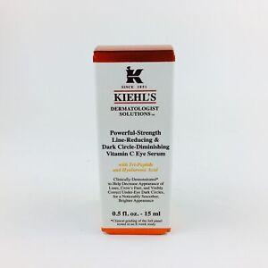 Kiehl's Powerful Strength Line Reducing Dark Circle Diminishing Vitamin C Eye...