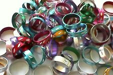 20 metal colourful rings Kids Party Bags Favours Toys Vending Novelty
