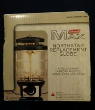 LOT (4) Coleman Max Northstar Lantern Globe No. 2000  2500 2600 D043 4411