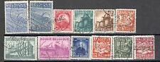 R6395 - BELGIO 1948 - LOTTO TEMATICI DEL PERIODO - FOTO