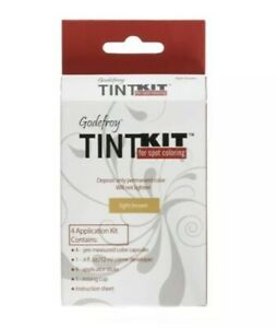 godefroy TINT KIT for spot coloring eyebrow 4 Application Kit, light brown