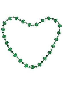 St Patrick's Day Shamrock Novelty Necklace 91cm  - Irish Party Supplies
