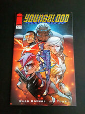 Youngblood #1 - Gold Foil Retailer Incentive Variant (Image, 2017) - New (NM)