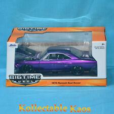 1970 Plymouth Road Runner Purple 1 24 Jada Toys 98233.