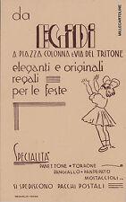 """# pubblicitaria - ROMA - """"EGIDI""""    SPECIALITA' PANETTONE - TORRONE - PANGIALLO"""