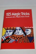 125 MAGIC TRICKS PERFORMED with REGULAR DECK OF CARDS BOOK How To Play Royal