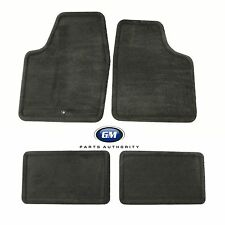 2006-2013 Chevrolet Impala Carpet Floor Mat Package 25795457 Ebony Front & Rear