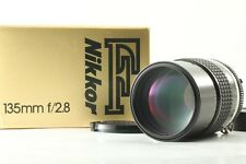 [ N.Mint in Box ] Nikon Ai-s Ais Nikkor 135mm F/2.8 Telephoto MF Lens From Japan