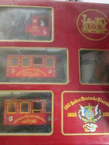 LGB Zugset 150 Jahre Deutsche Eisenbahn Spur G