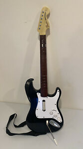 Fender Stratocaster XBOX 360 Rock Band Guitar Wireless Controller XBGTS2 TESTED