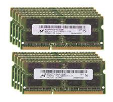 Micron Kits 10X 4GB 2Rx8 PC3L-12800S DDR3 1600Mhz CL11 Laptop Memory SODIMM #a22