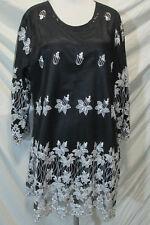 Elegance  emboridery   lace matrial  kurta/top size XL44